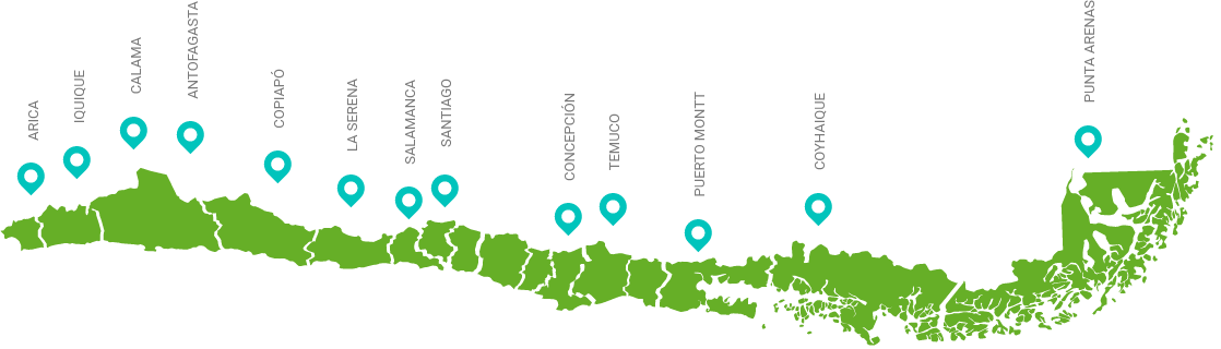 Imagen localización de sucursales